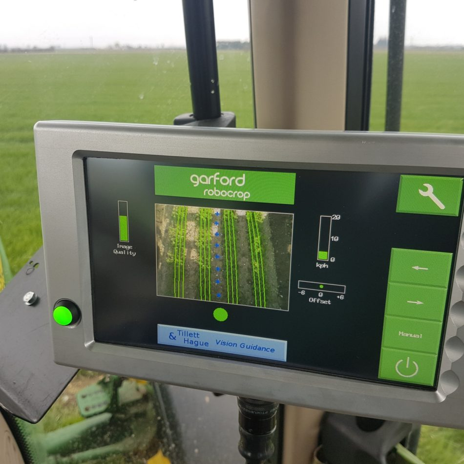 Robocrop Side Shift System