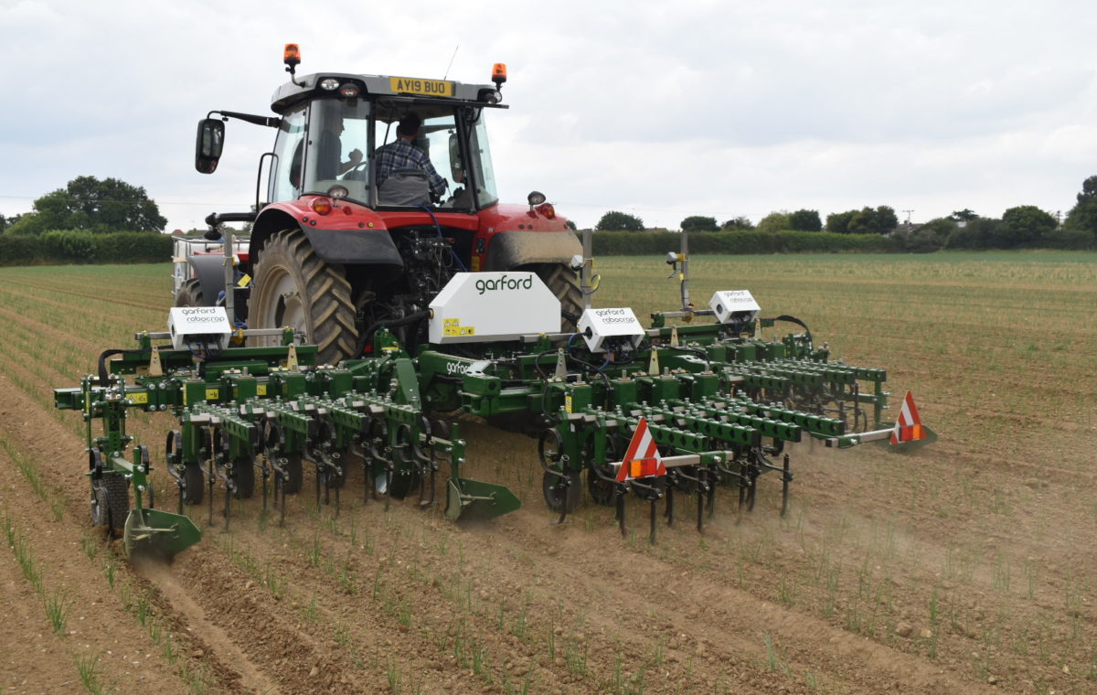 Garford Multi Section Robocrop Guided Hoe